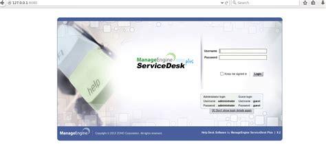 Www Desk Login by Install Manageengine Servicedesk Plus Unixmen