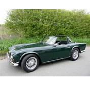 1964 TR4 British Racing Green With Black Trim SOLD  Car