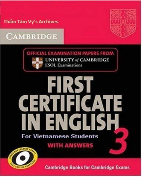 advanced updated for 4 books fce practice test book 3