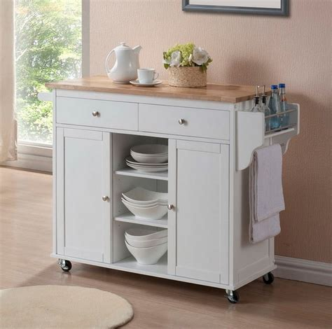 Furniture tall white wooden kitchen pantry cabinet with sliding free standing kitchen cabinets