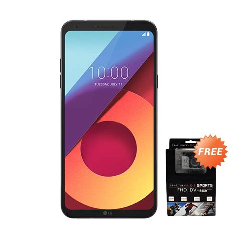 Lg Q6 Vision Astro Black jual early bird lg q6 plus vision smartphone astro black 64 gb 4 gb free b