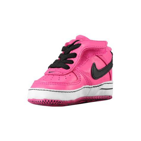 black and pink nike basketball shoes infant nike crib shoes nike air one crib