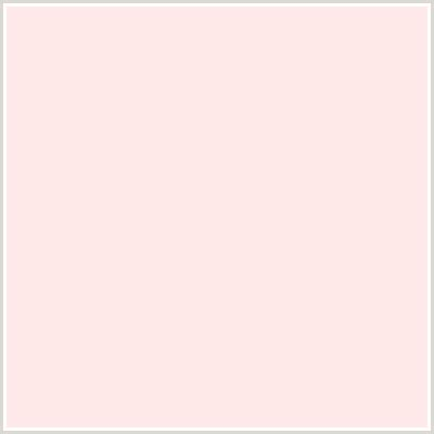 pastel pink rgb ffe9e8 hex color on colorcombos com with rgb values of 255 233 232 and cmyk values 0 0 086
