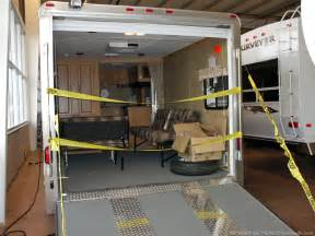 Open Road 5th Wheel Floor Plans fun ways to use toy hauler trailers when rving fun times
