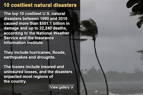 Top 10 costliest natural disasters   Bankrate.com