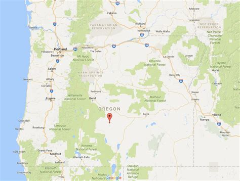 map of oregon lands road property near valley rural vacant land