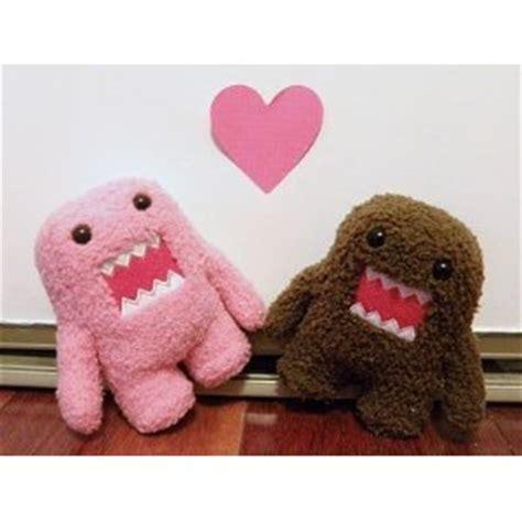 2 In 1 Domo domo domo kun and pink 2 plush doll set 6 8