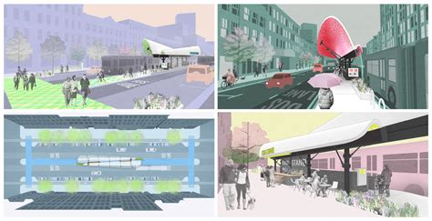 the bostonbrt station design competition is an ideas competition for utile enters the billow in the bostonbrt station design
