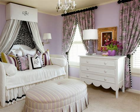romm colour purple and white bedroom combination ideas