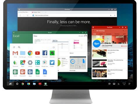 android os releases remix os plays android on the desktop