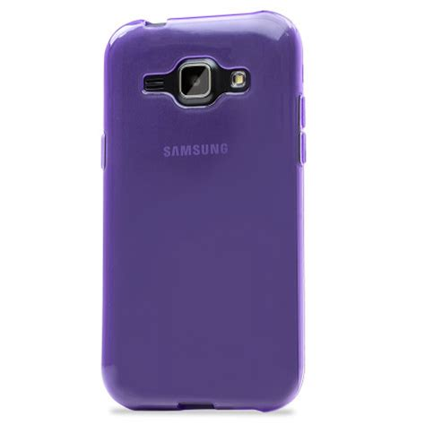 P Samsung J1 Flexishield Samsung Galaxy J1 2015 Gel Purple