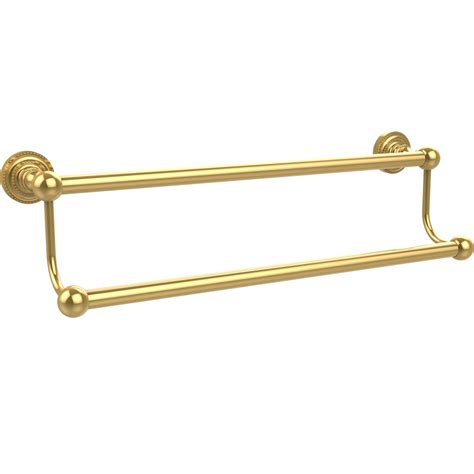 dottingham 18 inch double towel bar in towel bars and rings