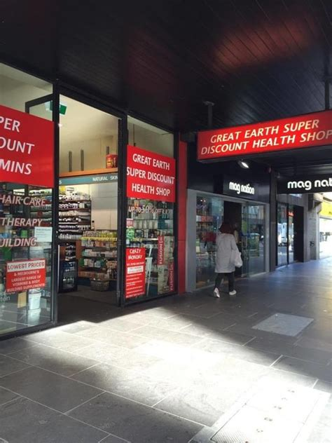 7 Great Shops For by Great Earth Discount Health Shops In Doncaster East