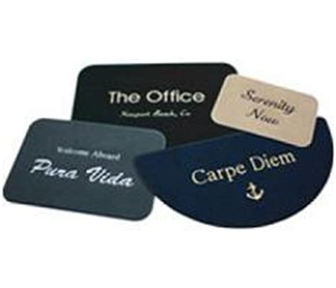 Custom Boat Mats by Personalized Boat Boarding Mats At Ahoycaptain Always Your Best Source
