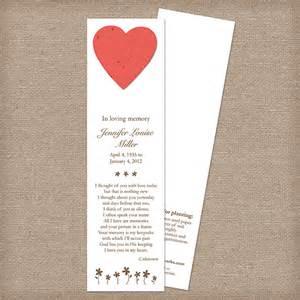 memorial bookmarks memorial bookmarks memorial bookmarks catalog botanical paperworks