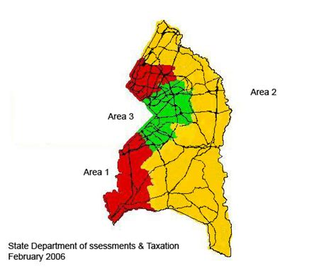 Pg County Property Records Prince George S County Reassessment Areas