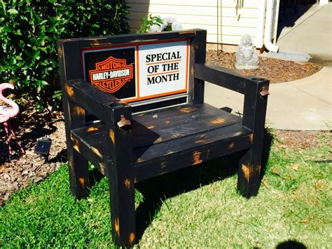 harley davidson bench 1000 ideas about harley davidson shop on pinterest harley davidson harley davidson