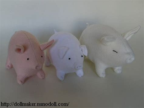pattern for felt pig stuffed pig pattern free patterns