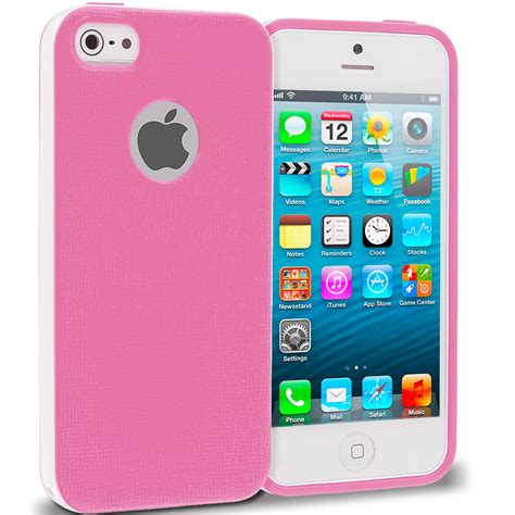 for apple iphone 5 5s hybrid tpu rugged slim cover color