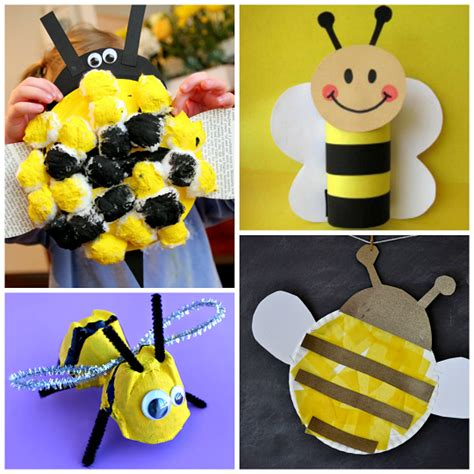 bee craft for buzzworthy bee crafts for to make crafty morning