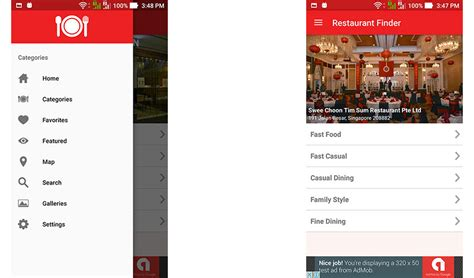 restaurant app template 10 best restaurant app templates