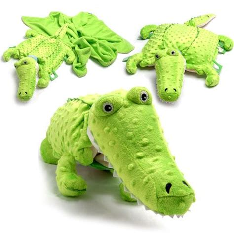 Alligator Pillow Pet by Crocodile Pillow Blanket Pet Crafts With Fabric