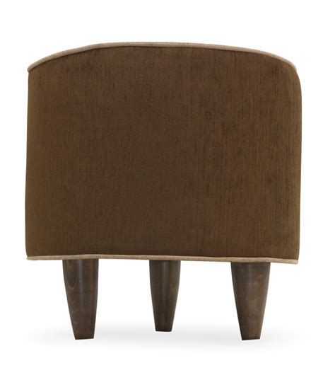round wood ottoman solid wood round ottoman with 5 inch leg buy online at