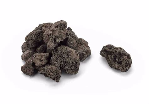 lava rock for pits hearth products controls co