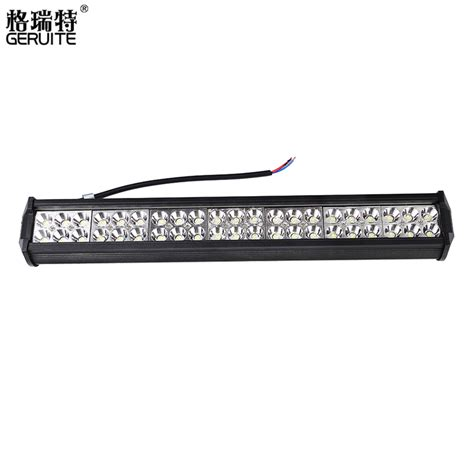 2016 126w Led Bar Offroad Car Led Light Bar Work Driving Car Led Light Bar