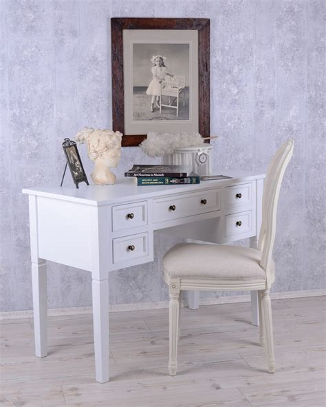 white cottage desk console desk im shabby chic white cottage country