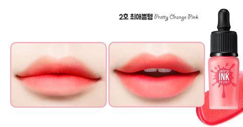 Lipstik Airy Ink Velvet Peripera Ink The Airy Velvet 8g Mlbb Lip Tint 5 Set