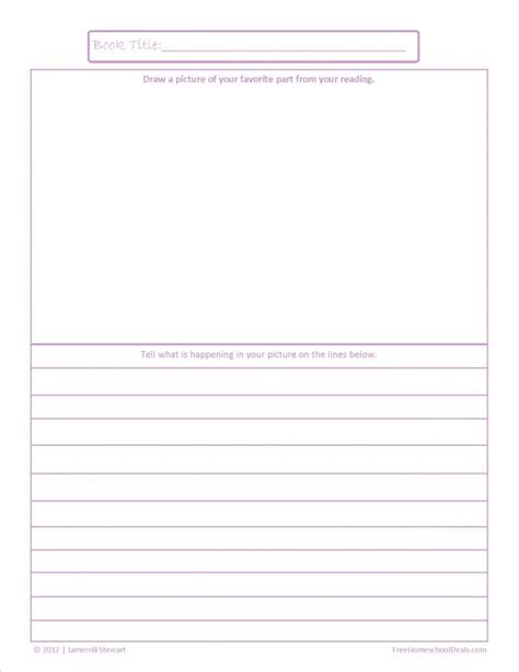 book report pages kindergarten book report worksheet 1000 images about