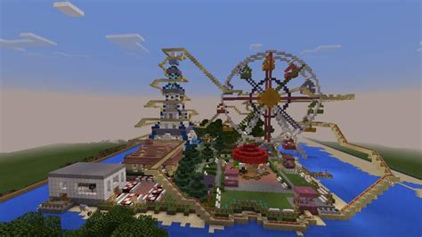 theme park names minecraft small island theme park minecraft amino