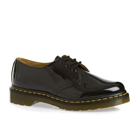 Dr Martens dr martens 1461 patent ler shoes black free uk