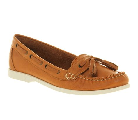 office loafers lyst office pacific loafer in brown