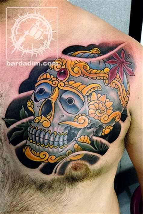 kapala tattoo george bardadim tattoo artist nyc