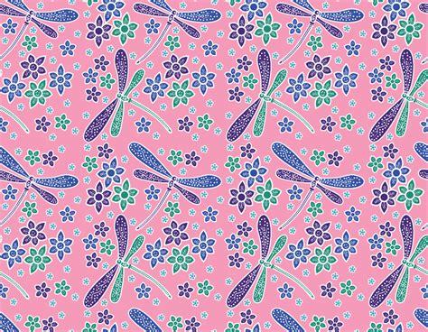 Kain Batik Print Modern Parang Bunga print kain batik capung pekalongan