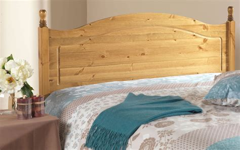 pine headboard king friendship mill orlando solid pine wooden headboard king