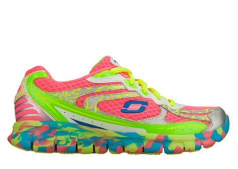 Sckecher skechers sport womens synergy confetti color pink multi