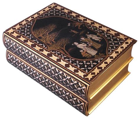 Decorative Storage Boxes With Drawers by Painted Book Shaped Storage Box With Two
