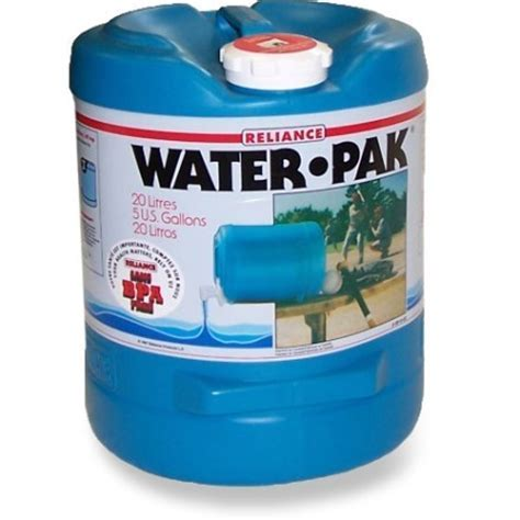 Reliance Water Pak Water Container   5 gal.   REI Co op