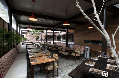 Zen Room Colors restaurant with large open garden interiorzine