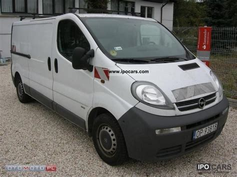 opel vivaro 2005 2005 opel vivaro car photo and specs