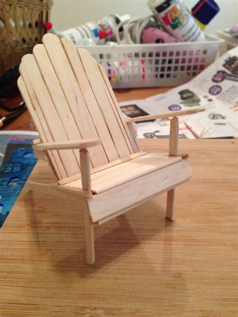 popsicle stick bench how to make doll furniture out of popsicle sticks