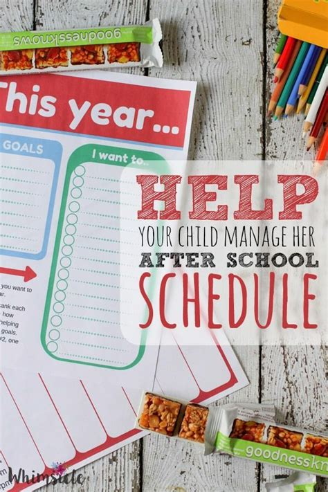 Does An Mba Help After School by Help Your Child Manage After School Schedule Walmart