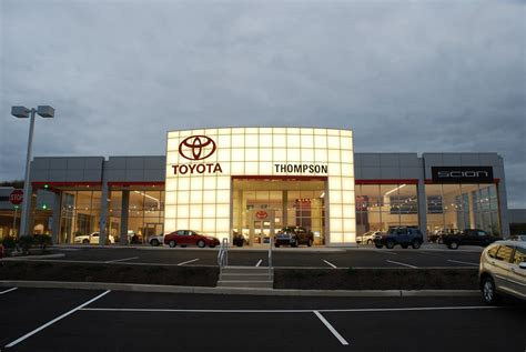 Toyota Service Appointment Never An Appointment Needed At Thompson Toyota Service