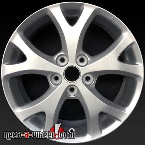 2007 mazda 3 rims 17x6 5 quot mazda 3 oem wheels 2007 2009 silver rims 64895