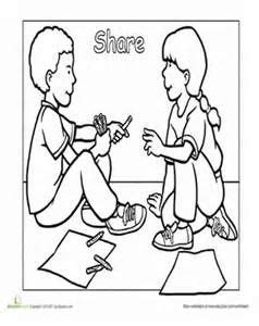 manners coloring pages preschool good manners coloring pages jamesenye children