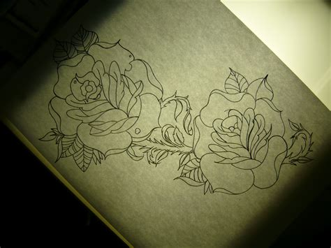rose side tattoo design for 2012 styles as different as