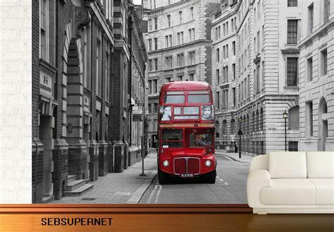 wallpaper for walls london bus stop london wall mural photo wallpaper ebay